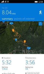 GPS на Microsoft Band 2